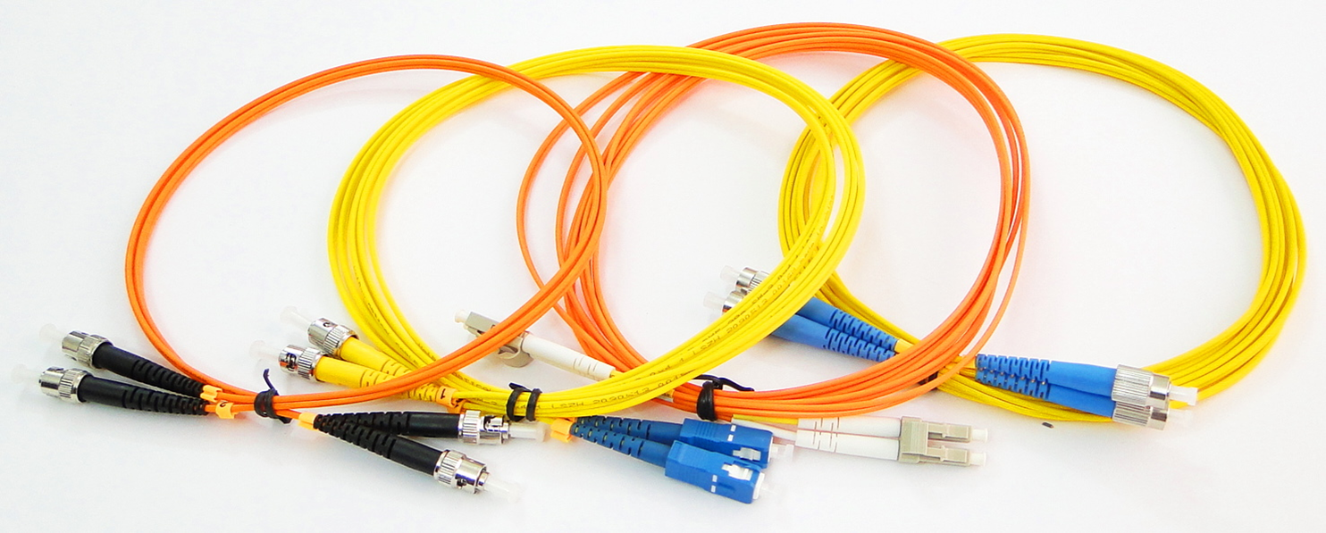 3Meters 2.0mm Multimode 62.5//125 Duplex LC PC to FC PC Optical Fiber Patch Cord