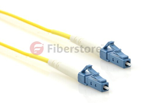 LC-LC simplex single mode fiber patch cable