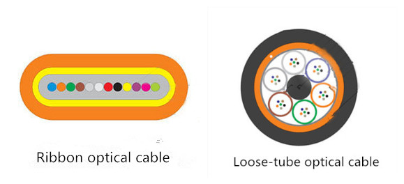 ribbon fiber optic cable vs loose tube cable