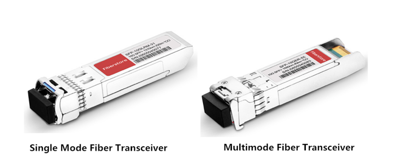 single mode fiber transceiver vs multimode fiber transceiver
