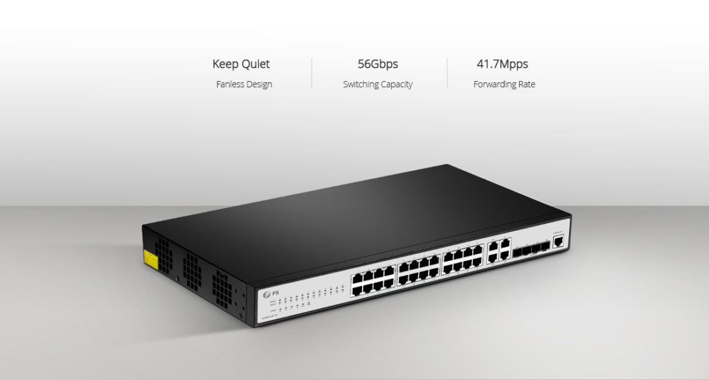 fanless switch ethernet access switch