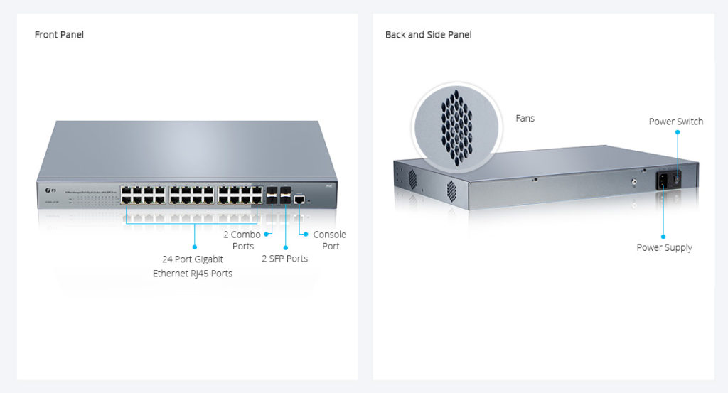 24-Port PoE Switch