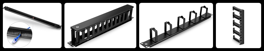 different types of cable managers for server rack