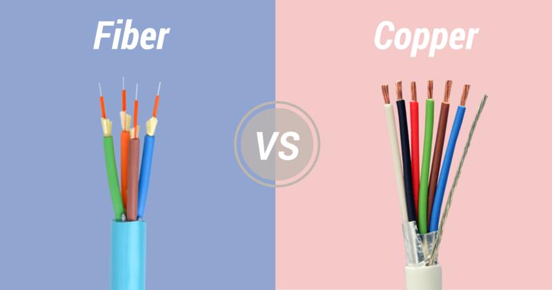 Fiber Optic Cable VS. Copper Cable