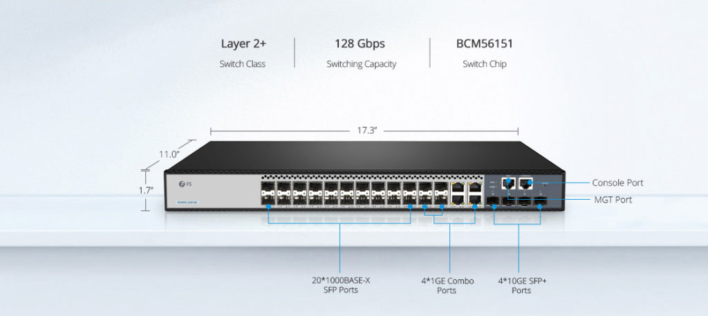 S3900-24F4S switch